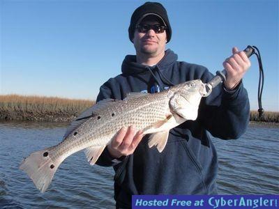Redfish Explorer Carolina Beach redfish charters