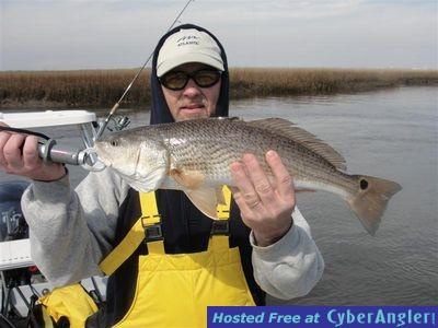 David with a nice Carolina Beach Inshore Redfish