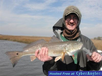 David with another great Inshore Carolina Beach redfish.