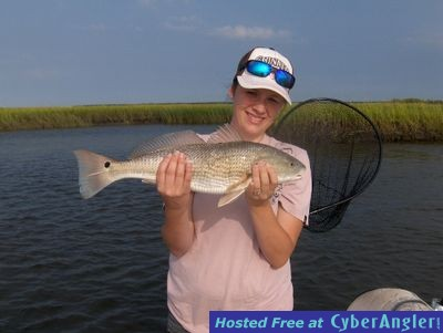 First Red Drum Catch
