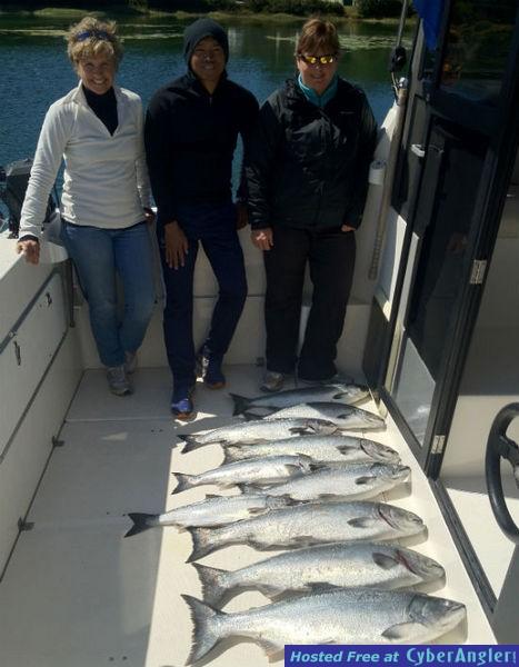 Salmoneye.net Salmon and Halibut Fishing Pictures