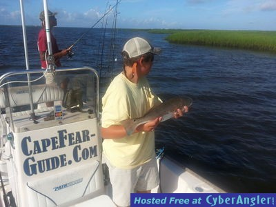 Cape Fear Guide Drum Fishing