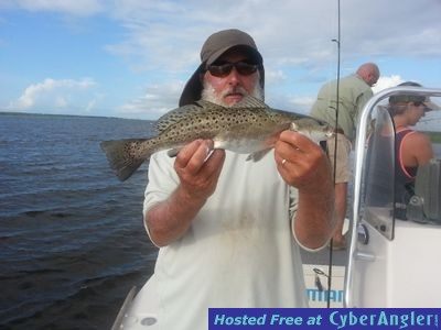 Capt.Mike & Speckle Trout