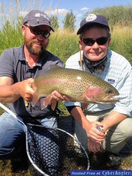 Mark Leidy Ruby River rainbow trout