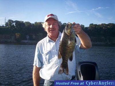 Alabama's Tennessee River Impoundment Wilson Lake, Seven Pound Smallmouth B