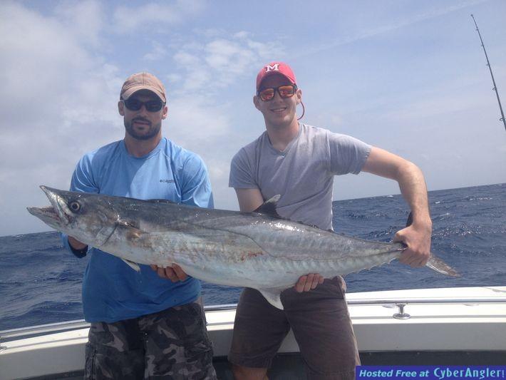 Fishing off Miami, FL