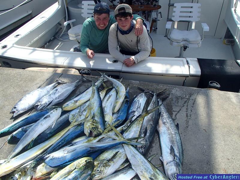 Ft. Lauderdale Deep Sea fishing for Mahi-Mahi