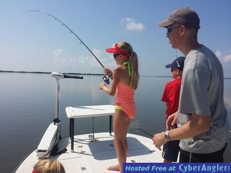 The Moore family caught a bunch of fish fishing with Capt. Joe Porcelli