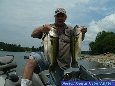 Alabama 39 s lay lake for summertime day and night bass fishing for Weiss lake fishing report