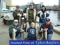 Milwaukee Fishing Lake Michigan Salmon Reports 4/21/2008