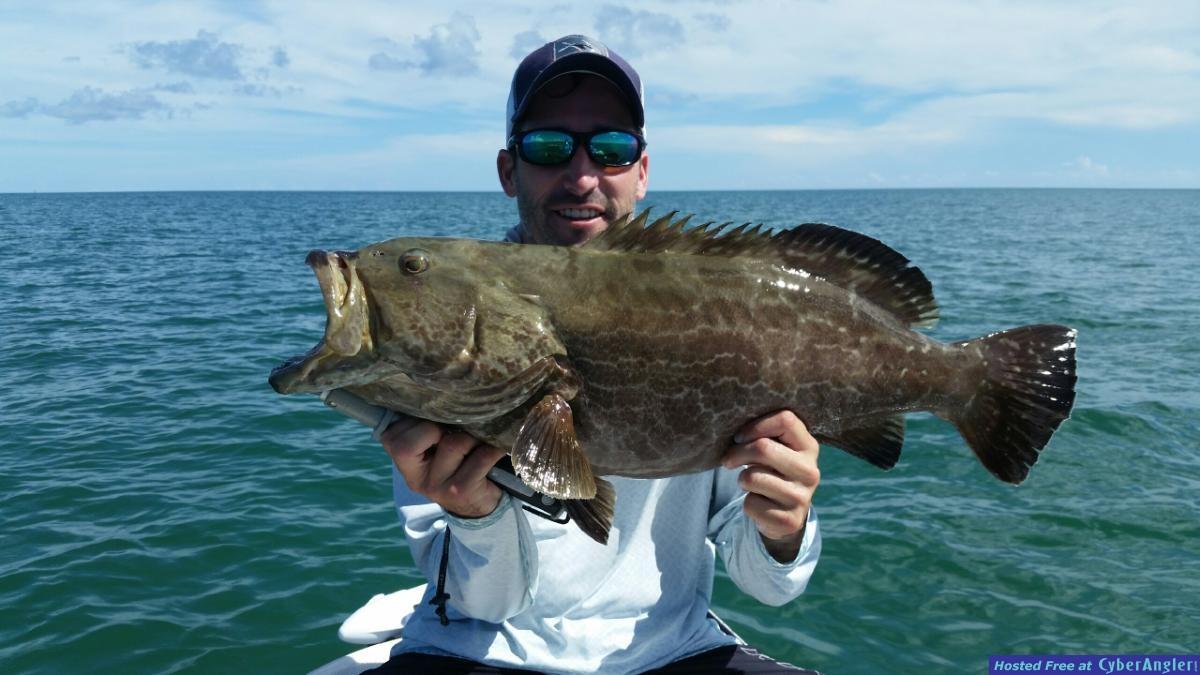 Lower Keys grouper capt. Steve Hancock