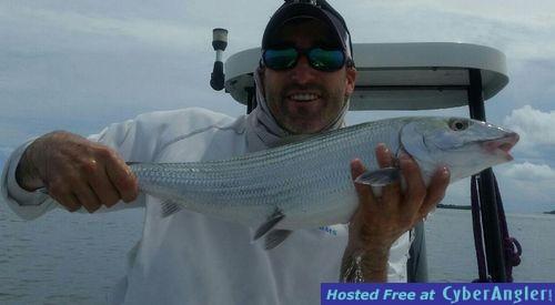 Lower Keys bonefish with captain Steve Hancock
