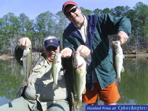 Alabama's Lake Martin is fun for Father and Son Fishing Trips!