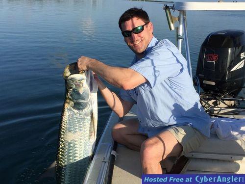 Tarpon fishing Sugarloaf Key