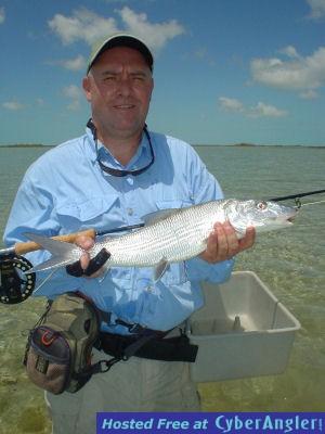 Kirk Grassett South Andros Island fly bonefish