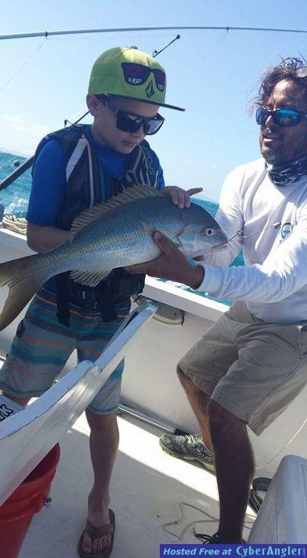 Fishing Fajardo, Puerto Rico