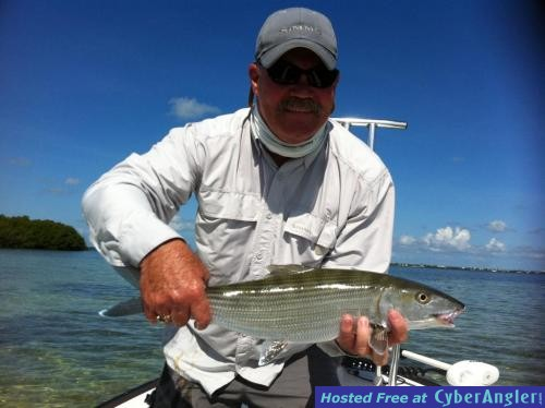 fly fishing for bonefish in cudjoe key