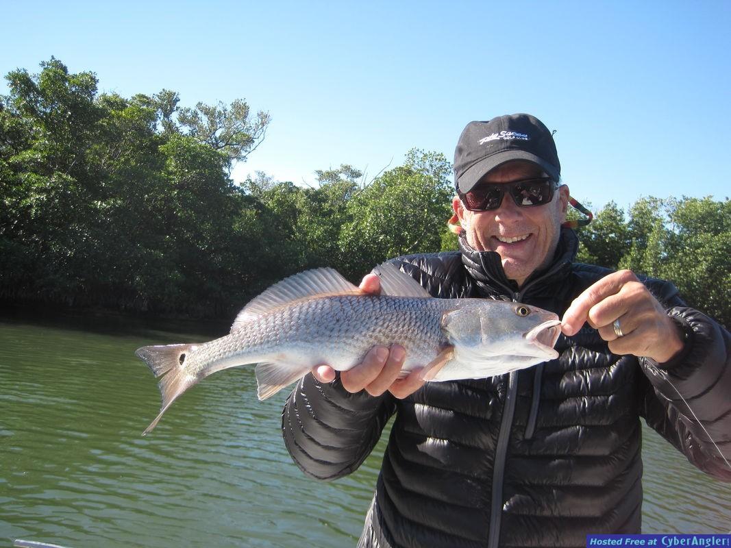 20-inch redfish-B. Tank