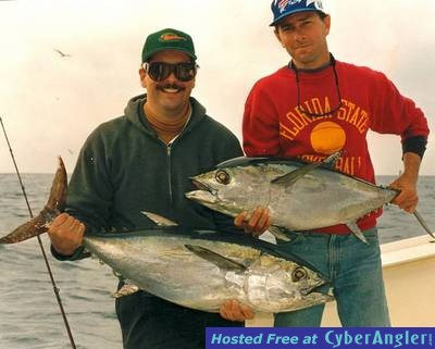 Kelly & Rudy with a pair of Blackfins