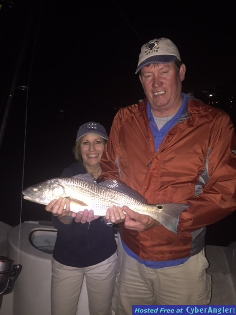 Kathy's first red