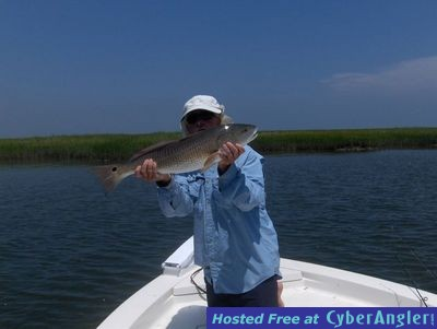 Cape Fear Guide Red Fishing