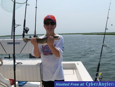 Bald Head Island Speckle Trout