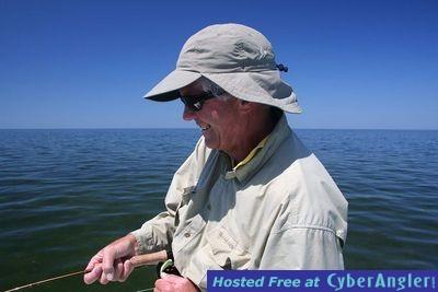 Tarpon Angler  Peter Moyer Jackson Hole, WY