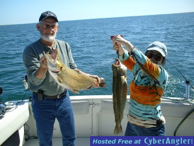 Blue Max Charters Brown Trout