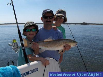 N.C. Red Drum Fishing