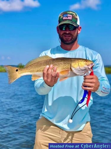 Whiskey_Bayou_Charters___Fishing_Report___Fishing_for_Redfish_in_the_Marsh_