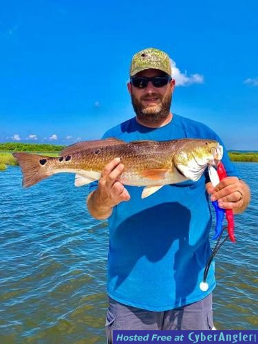 Whiskey_Bayou_Charters___Fishing_Report___Fishing_for_Redfish_in_the_Marsh_