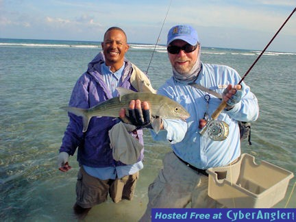 Capt. Rick Grassett's Turneffe Flats Lodge fly bonefish