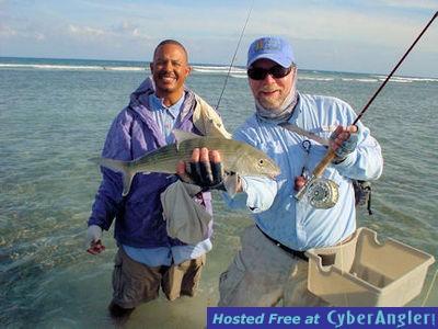 Capt. Rick Grassett's Turneffe Flats Lodge fly bonefish