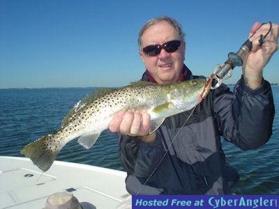 Charlie Rutherford's Sarasota Bay CAL jig trout