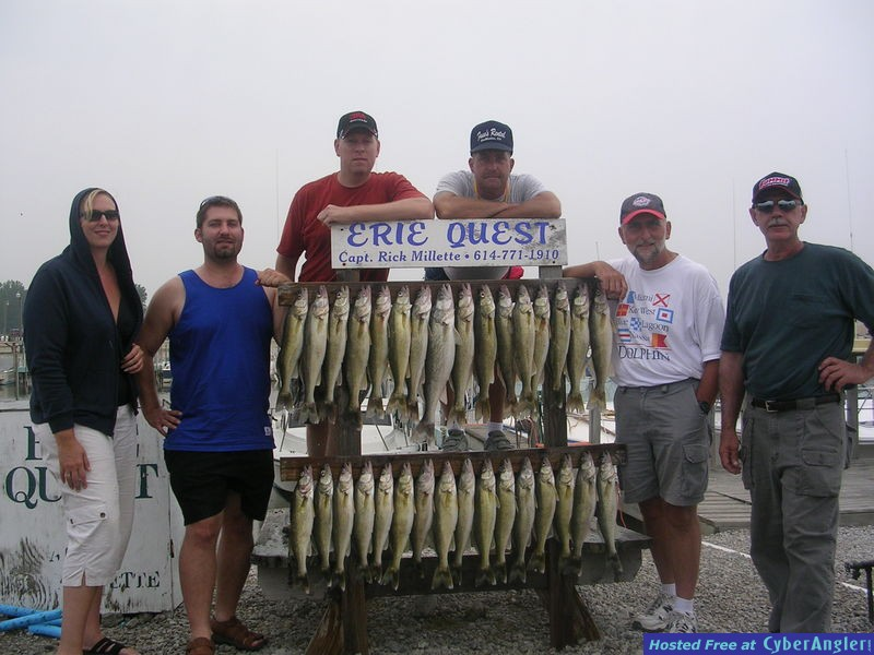 Indiana walleye slayers - the Seifert family on Lake Erie