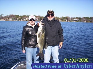Capt Pete Matson and Capt Dawn Works-Dennis 13lbs. 5 ozs.