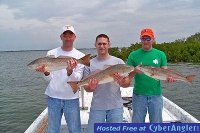 Locklear Homosassa Redfish March 2009