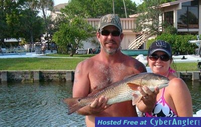 Mike's 26-inch shallow water Homosassa redfish